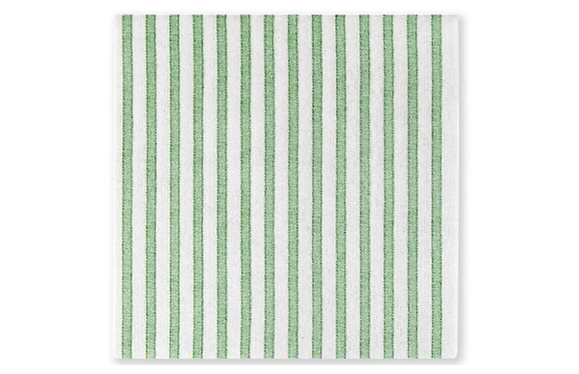 S/50 Papersoft Capri Dinner Napkins, Green