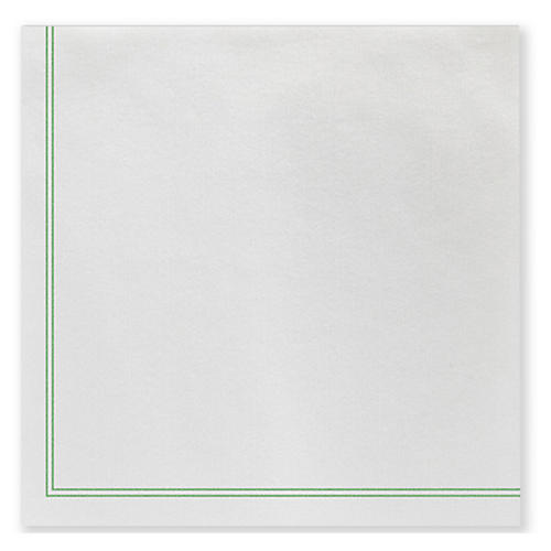 S/50 Papersoft Linea Dinner Napkins, Green
