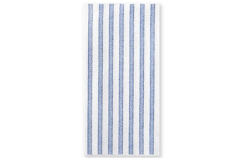 S/50 Papersoft Capri Guest Towels, Blue