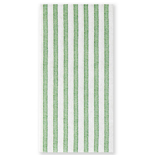 S/50 Papersoft Capri Guest Towels, Green