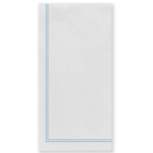 S/50 Papersoft Linea Guest Towels, Light Blue