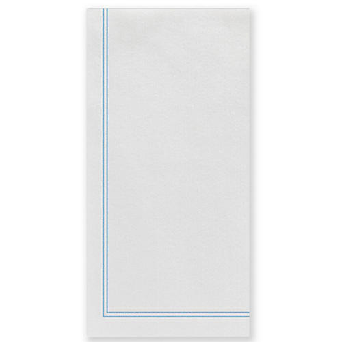 S/50 Papersoft Linea Guest Towels, Light Blue