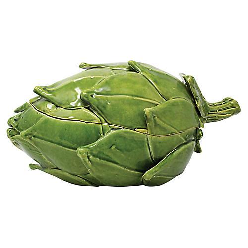 Artichoke Tureen, Green