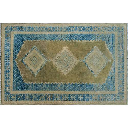"3'10""x6' Kailey Rug, Gray/Sky"