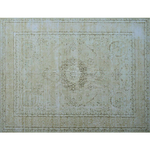 "9'6""x12'11"" Jewel Rug, Beige/Brown"