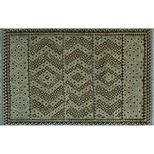 "6'6""x10' Winchester Rolando Rug, Gray/Brown"