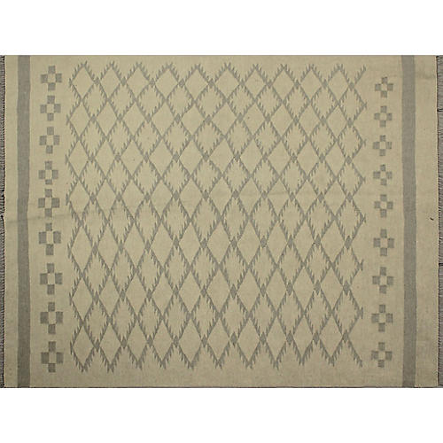 "4'11""x6'5"" Winchester Cem Rug, Ivory/Gray"