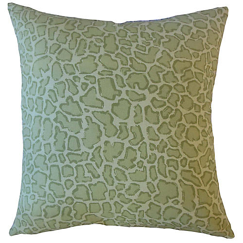 Bea Pillow, Green