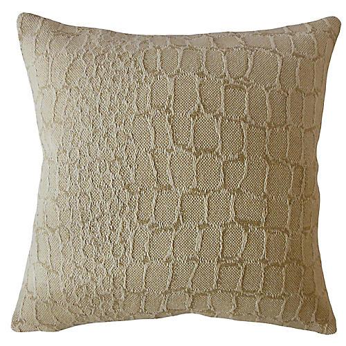 Maya Pillow, Beige