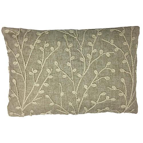 Laura 12x24 Lumbar Pillow, Beige