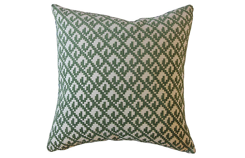 Serra 18x18 Pillow, Green