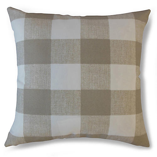 Ameli 18x18 Outdoor Pillow, Beige