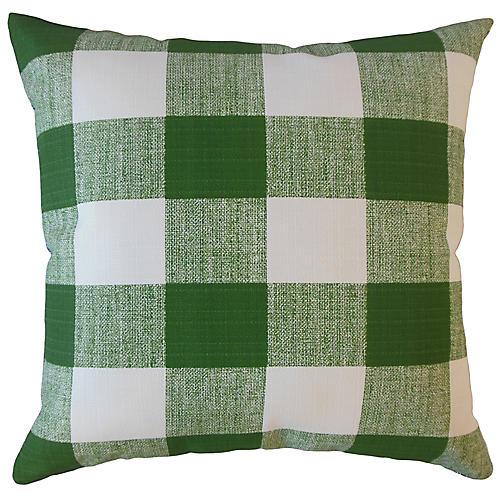 Ameli 18x18 Outdoor Pillow, Green