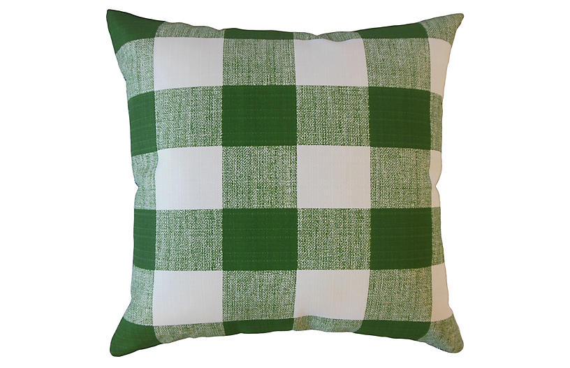 Ameli 18x18 Outdoor Pillow, Green