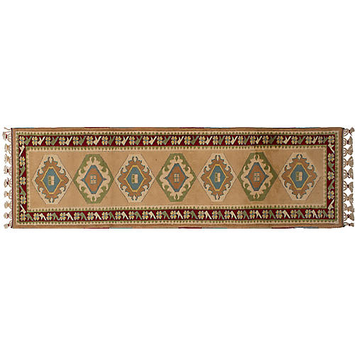 "2'4""x9' Shiravan Runner, Tan"