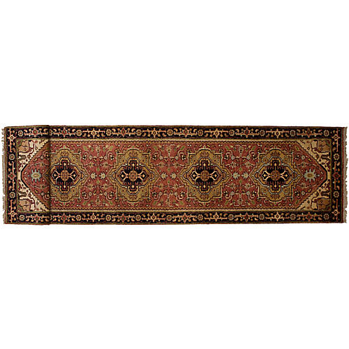 "2'7""x16'1"" Serapi Heritage Runner, Light Red"