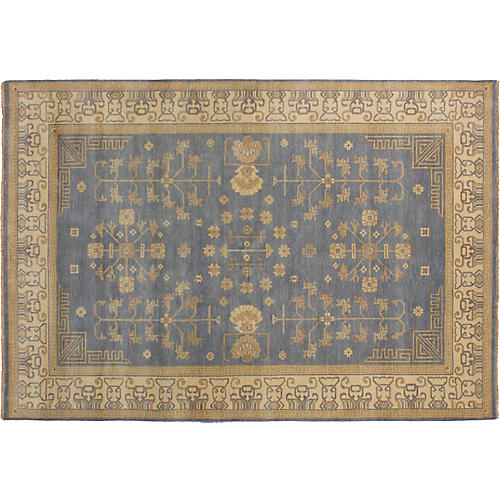 "6'5""x9'5"" Arabella Rug, Blue"