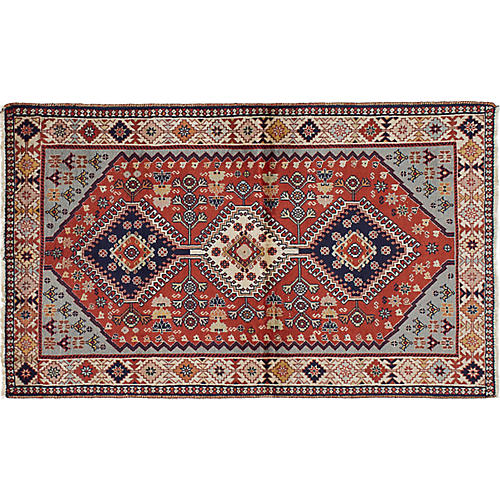 "2'8""x4'5"" Scarlett Rug, Brown"
