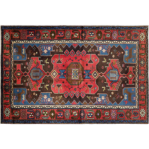 "4'5""x6'9"" Eden Rug, Brown"