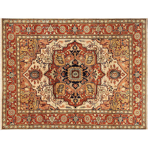 "9'x11'9"" Gracie Rug, Brown"