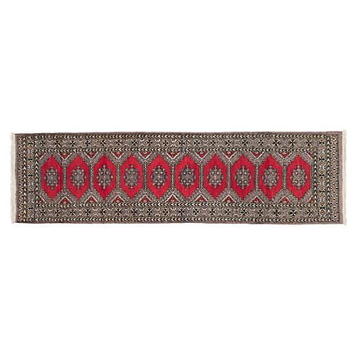 "2'9""x10' Mateo Rug, Red"