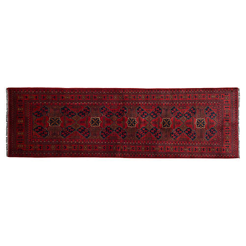 "2'6""x9'5"" Charles Rug, Red"