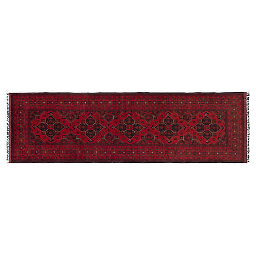 "2'11""x9'8"" Cooper Rug, Red"