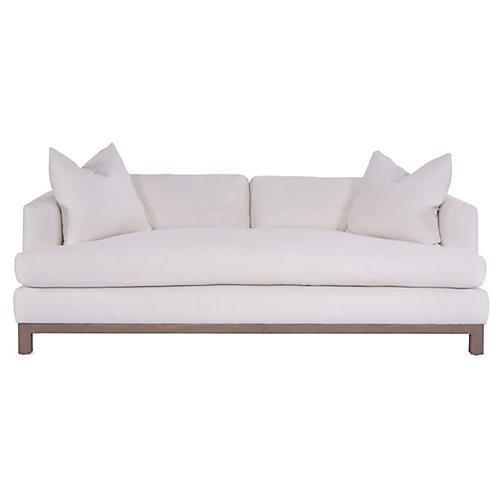 Greer Sofa, Ivory Linen