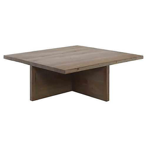 Rute Square Coffee Table, Mocha