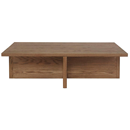 Rute Rectangle Coffee Table, Oak