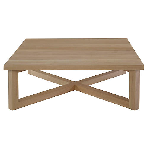 Exley Coffee Table, Natural