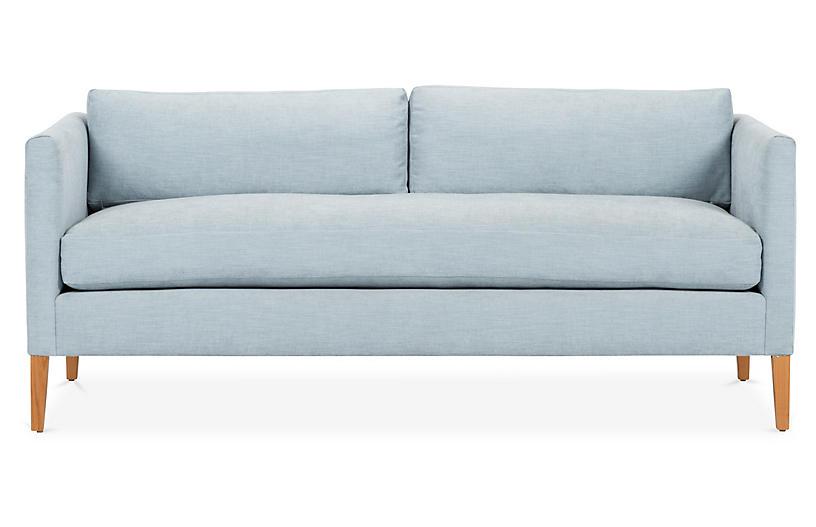 Albee Sofa, Sky Blue