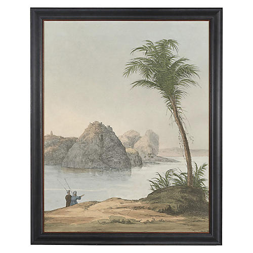 Egyptian Palms III