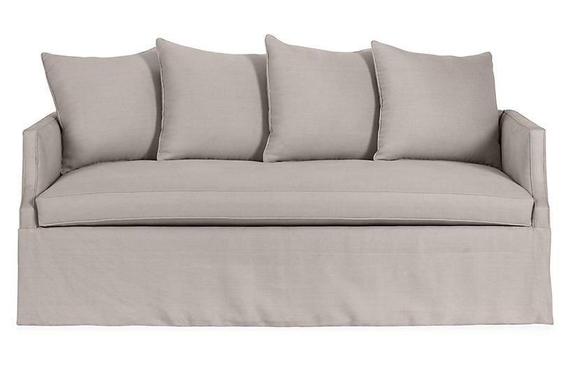 Dumont Linen Trundle Bed