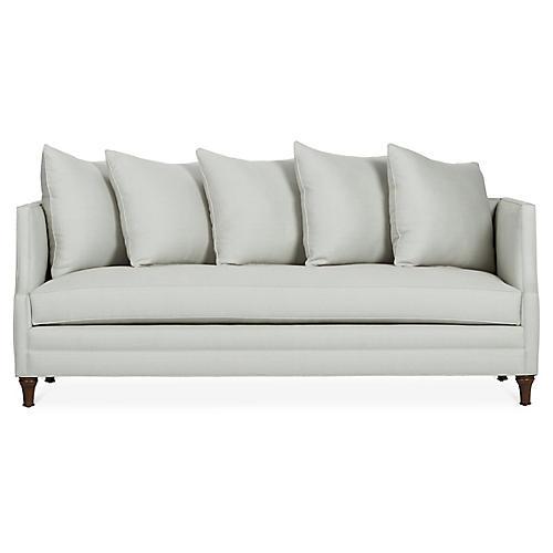 Dumont Sofa, Sea Glass Linen