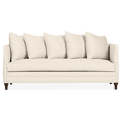 Dumont Sofa, Bisque Linen