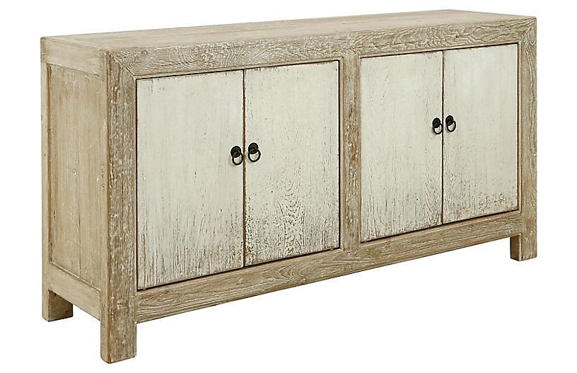 Julissa Sideboard, Natural White
