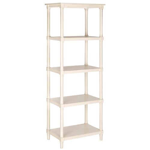 Ollie Bookcase, White