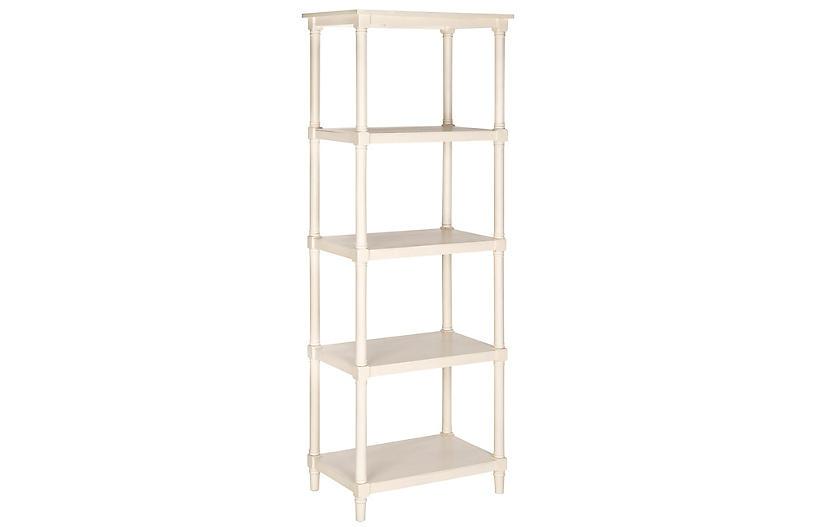 Ollie Bookcase, White