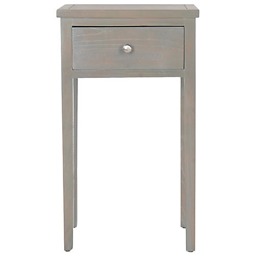 Nell Nightstand, Gray
