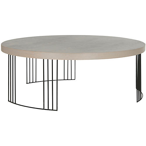 Bailey Coffee Table, Gray
