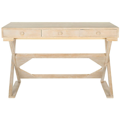 Foligno Desk, Natural