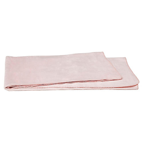 Baby Blanket, Baby Pink