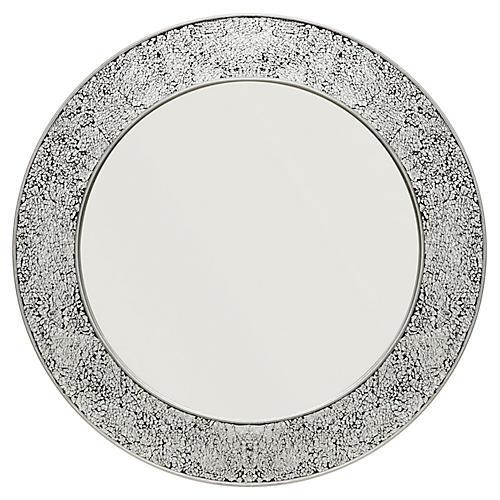 Grace Wall Mirror, Silver