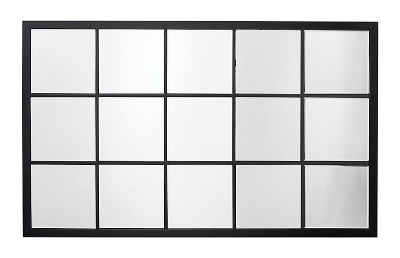 Tribeca Wall Mirror, Black