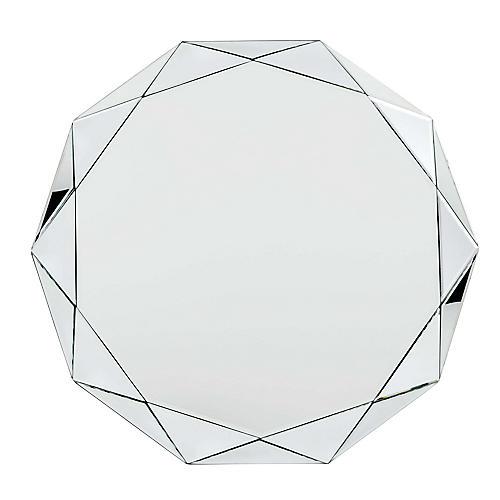 Selena Wall Mirror, Clear
