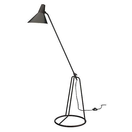 Franco Tripod Floor Lamp, Bronze