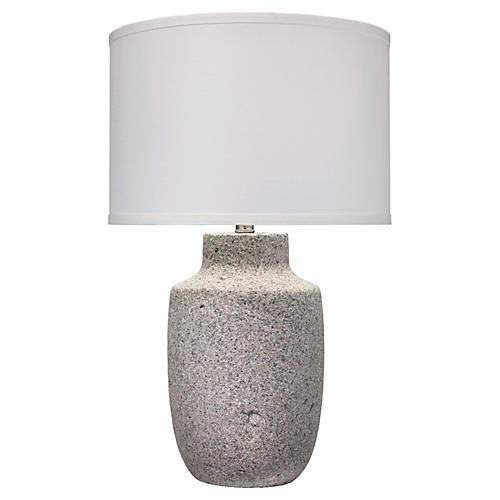Gravel Large Table Lamp, Gray