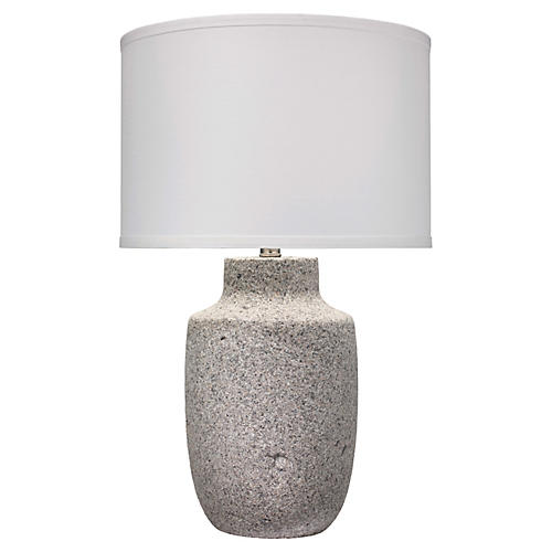 Gravel Large Table Lamp, Gray
