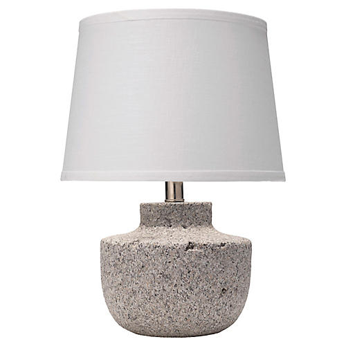 Gravel Small Table Lamp, Gray